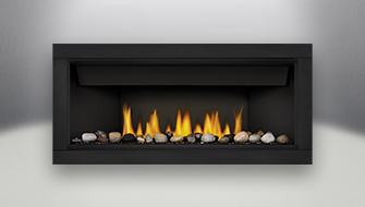 Acies Linear Bl46 Real Fireplace
